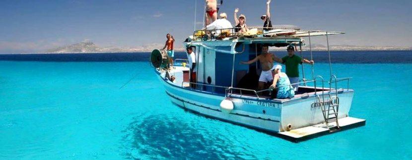 Escursione in Barca giro Isola di Favignana