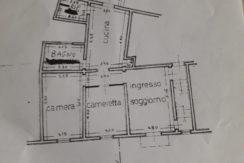 Appartamento area pedonale 100 mq + terrazza sovrastante